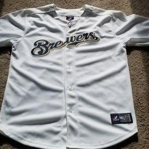 Milwaukee Brewers kid's Jersey